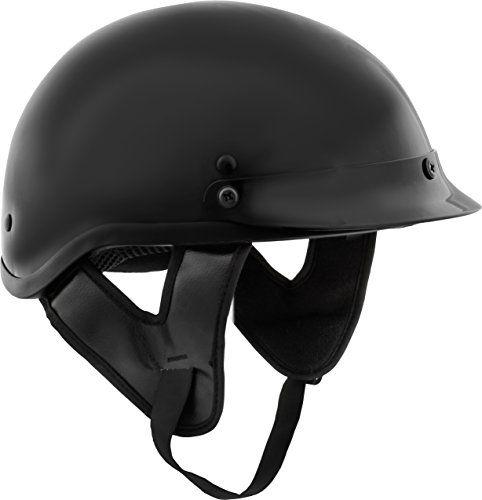 Fuel Helmets SH-HHGL16 HH Series Half Helmet, Gloss Black, Large. For product info go to:  https://www.caraccessoriesonlinemarket.com/fuel-helmets-sh-hhgl16-hh-series-half-helmet-gloss-black-large/