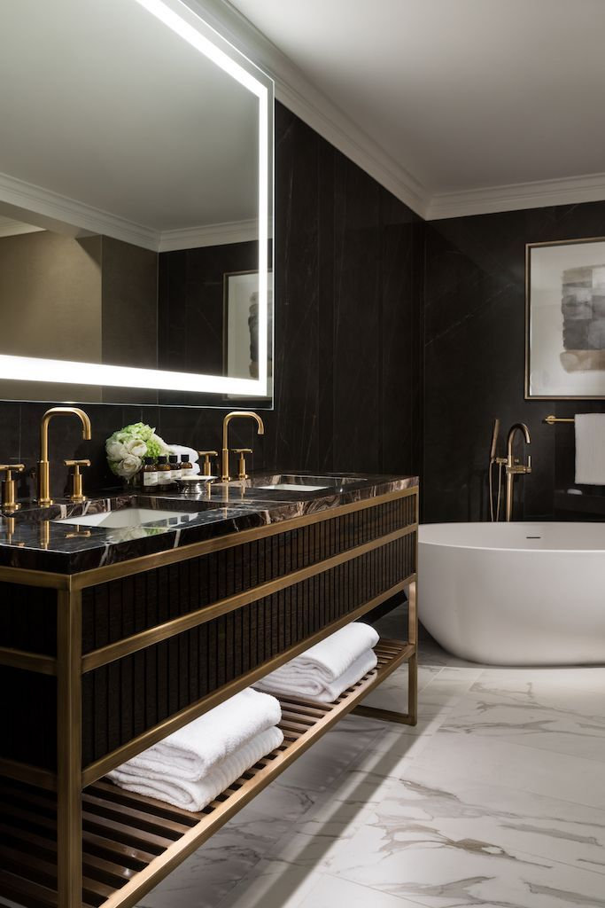 Fairmont Hotel Vancouver | Contemporary bathroom designs ...