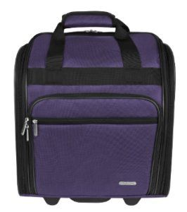 Travelon Wheeled Under The Seat Bag- Perfect kids travel bag! 20% off at E Bags with this link: http://friend.ebags.com/share/xgmmt