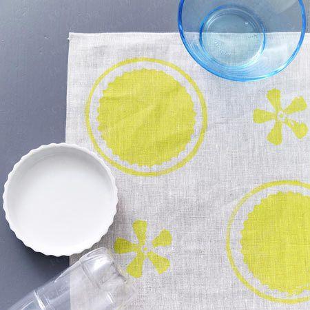 Ткань красочные кухонные полотенца, мешки печати - и т. д. - tartelett виде чашки рецепт