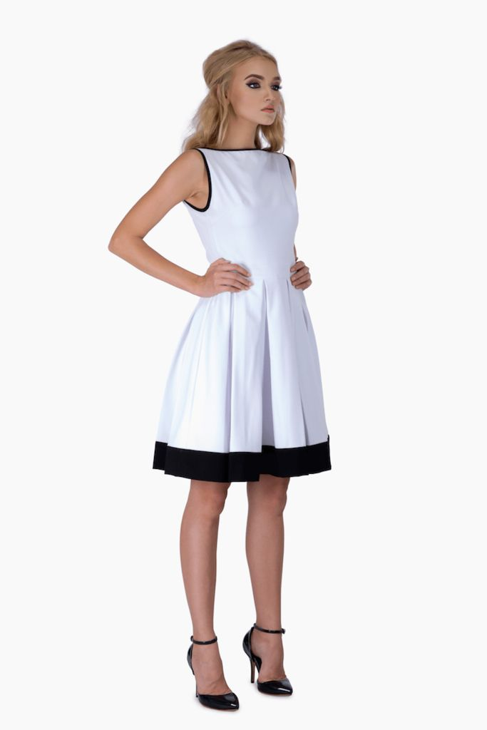 White Swing Dress – Mojau