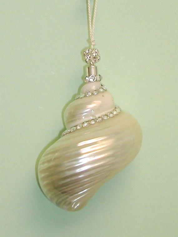 crystals on sea shells