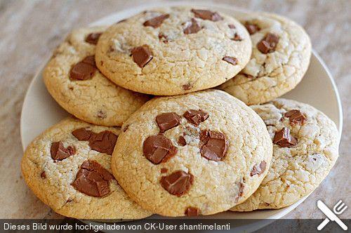 American Chocolate Chip Cookies /Mein Lieblingscookie-Rezept!!| Chefkoch.de