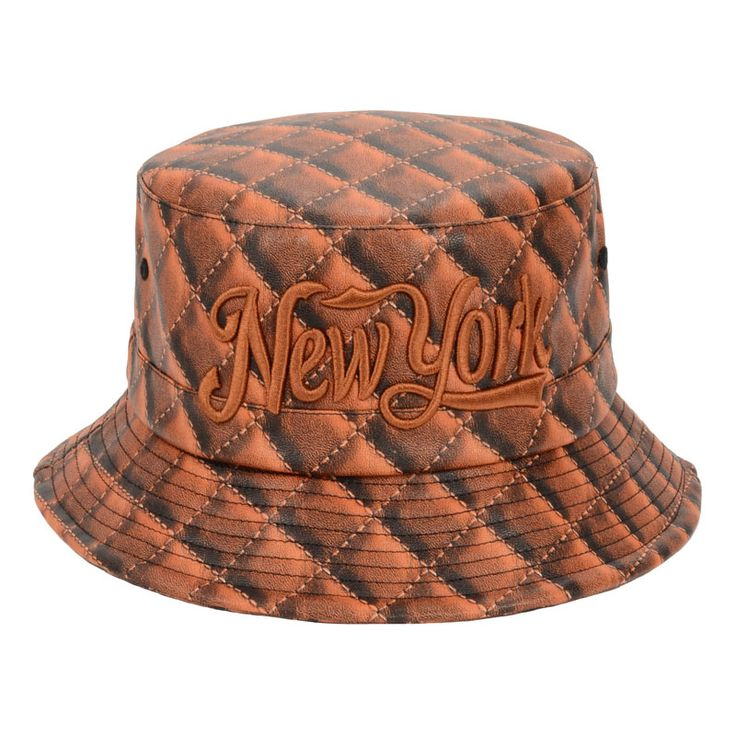 ORANGE  New York Plaid Bucket Hats For Men Women Outdoor Fishing Hiking Boonie Hat Hip Hop Sun Leather Hat Goldtop http://www.aliexpress.com/store/product/Fashion-Design-New-York-Plaid-Bucket-Hats-For-Men-Women-Outdoor-Fishing-Hiking-Boonie-Hat-Hip/1201637_32299213671.html