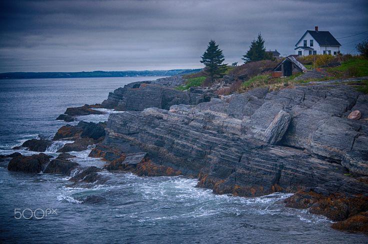 Blue Rocks, Nova Scotia, Canada - One fine evening at Blue Rocks, Nova Scotia