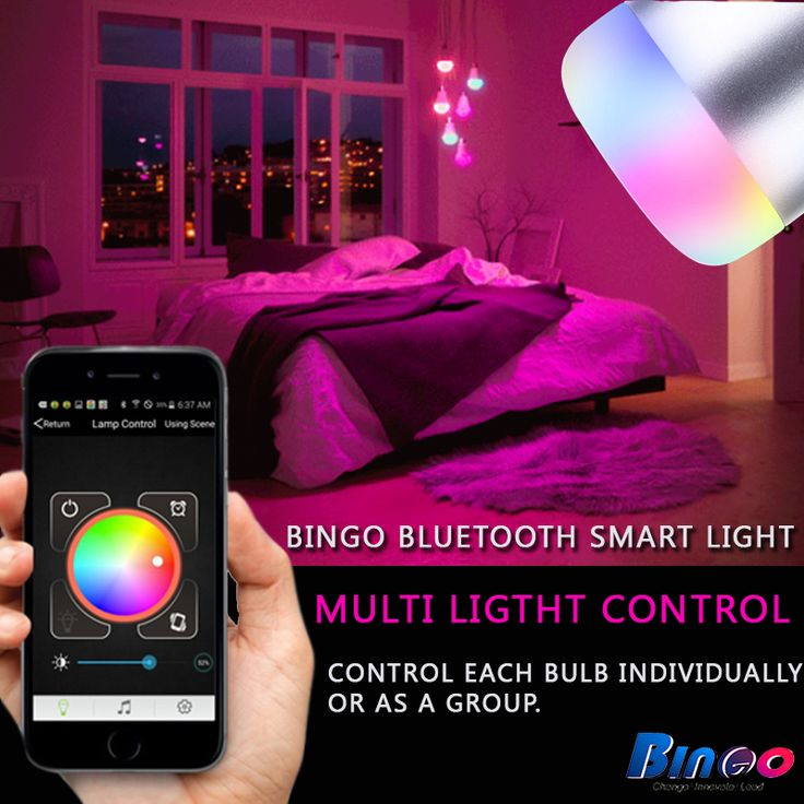 #BingoL1 Smart LED bulb available with Bluetooth pairing which provides flexibility to create the perfect lightning experience to your lifestyle.