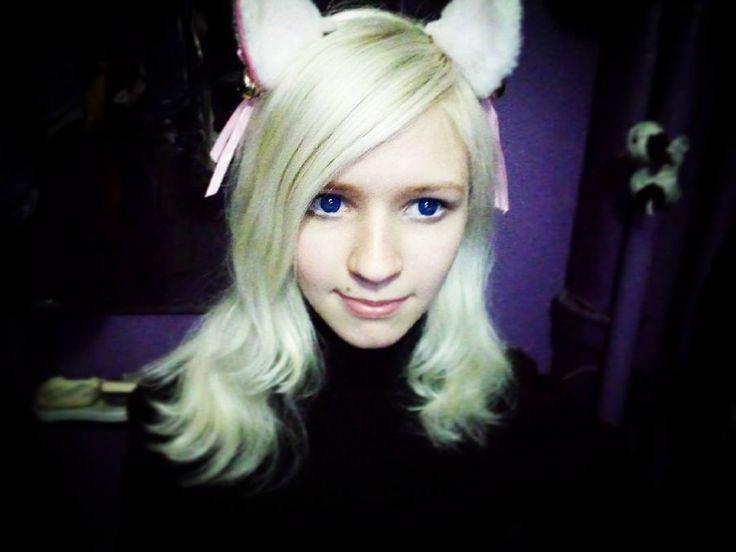 Tanya Rumyantseva, Таня Румянцева, живая кукла, блондинка, большие глаза, синие глаза, милая девушка, аниме, живая аниме, кавай, ня, няша, няшка, living doll, human doll, dolly, anime, circlelenses, blue eyes, big eyes, cute, anime, living anime, human anime, kawaii, cute girl, white hair, blonde hair, neko, neko girl, neko kawaii, cat, kitten, kitty, ears, cat ears, kitty ears, неко, девушка неко, неко девочка, неко кавай, котик, котенок, кошачьи уши, ушки, котенок, девушка кошка, неко тян