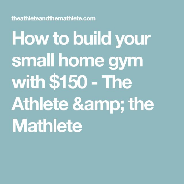 Small Home Gym Ideas: 10+ Ideas About Small Home Gyms On Pinterest