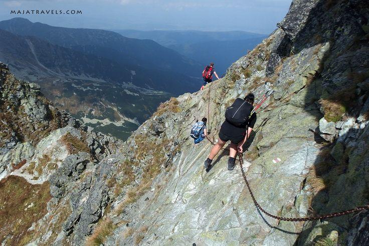 Rohace trail in Western Tatras in Slovakia
