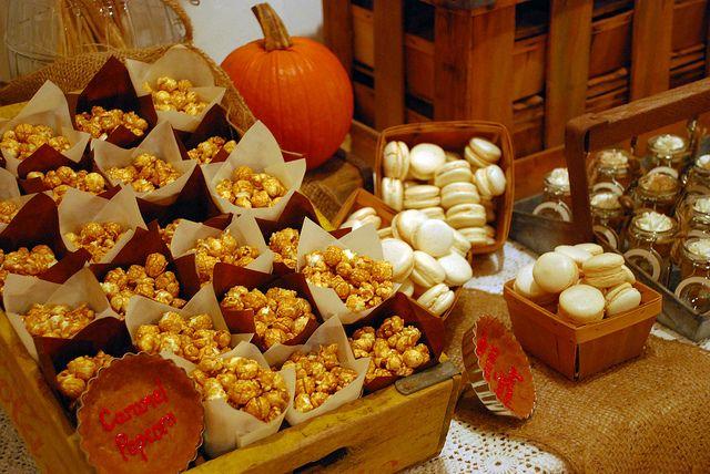 Rustic Autumn Dessert Table