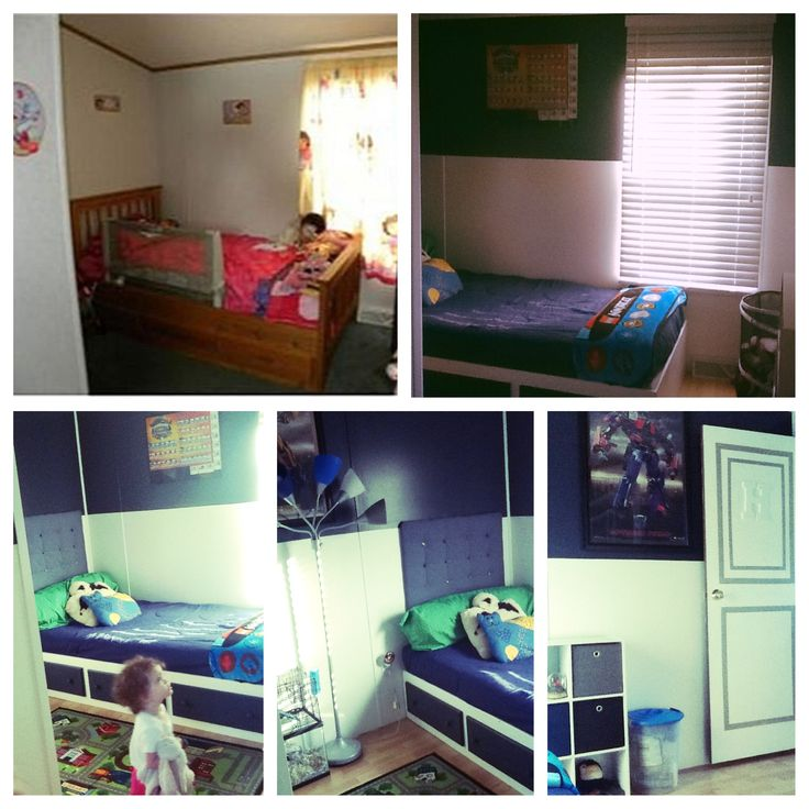Makeover For A Boy's Bedroom In Our Single Wide Mobile