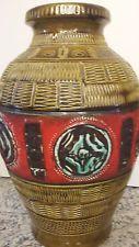 Bay Keramik, Vase XXL, Bodo Mans Design ,Bodenvase , 70 er Jahre, 551-50
