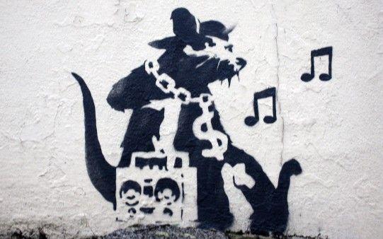 Rata Rapera  http://fondopantalla.com.es/graffiti