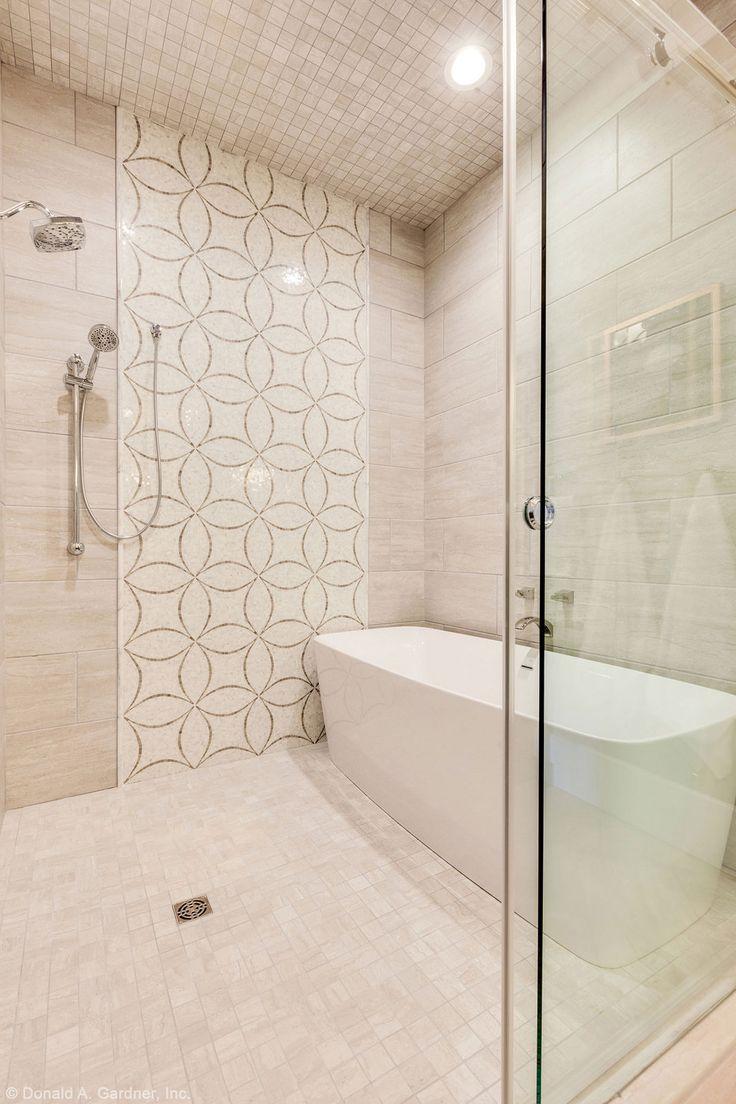 Plan #1211 - The Rangemoss | Small bathroom, Walk in ... on Wet Room With Freestanding Tub  id=16426