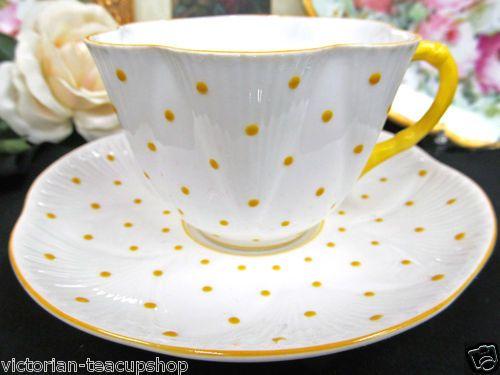 Shelley dainty Yellow Polka Dots                                                                                                                                                                                 More