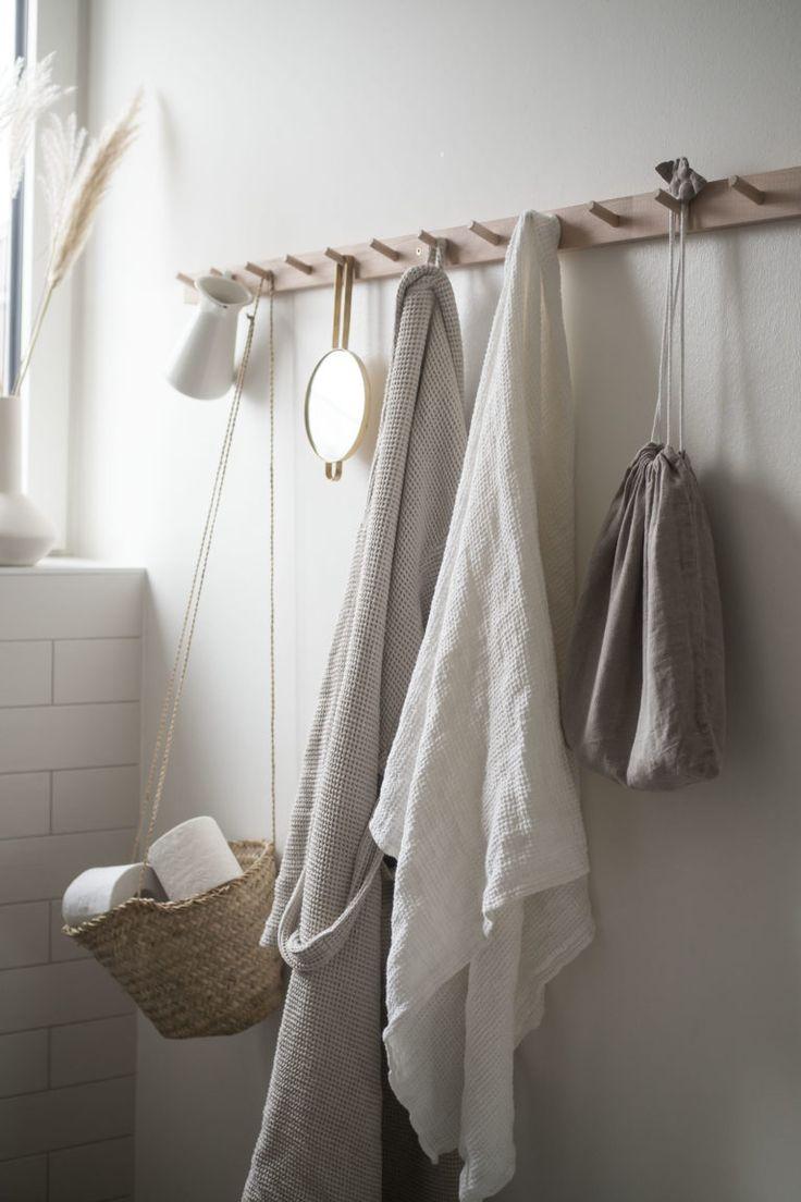 Textilien im Badezimmer