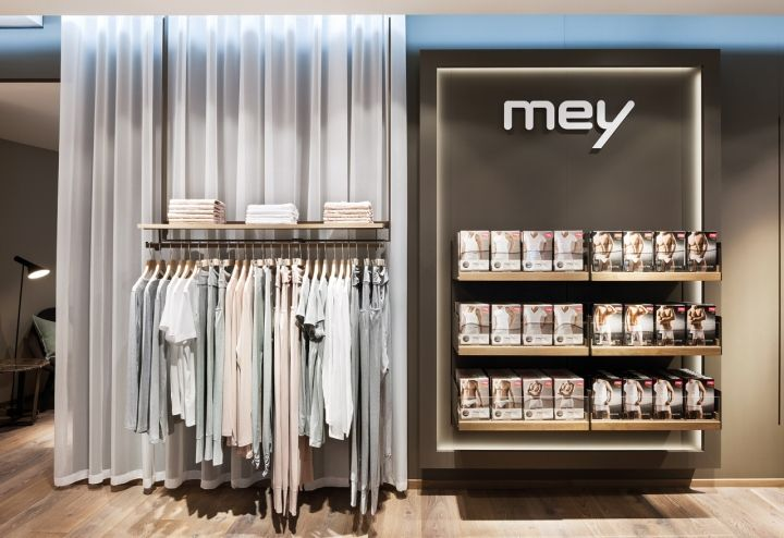 Mey lingerie store by Konrad Knoblauch, Constance – Germany » Retail Design Blog