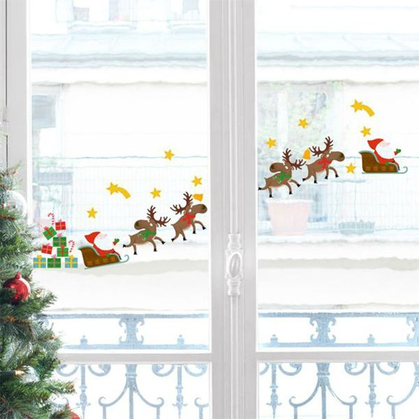 Renii moșului vor ajunge curând la fereastra ta. Tu cum o decorezi pentru a-i întâmpina?