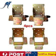 4PCS Folding Table Leg Brackets Fittings Self Lock Unlock Extension Hinges