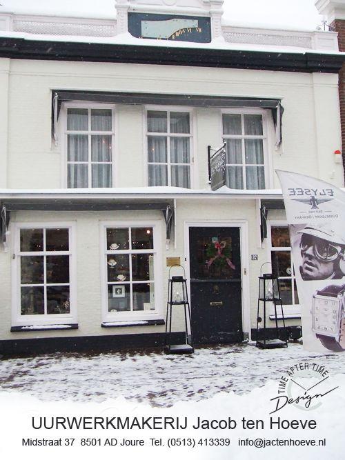UURWERKMAKERIJ Jac. ten Hoeve  Midstraat 37, 8501 AD Joure    Tel. (0513) 413339   info@jactenhoeve.nl
