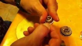 Creaciones y reciclaje de cápsulas Nespresso, via YouTube.