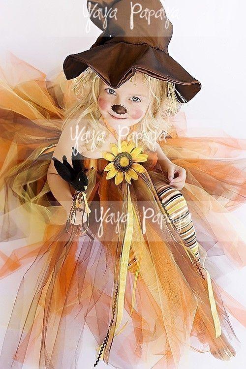 Lil' Scarecrow Halloween Costume Set by yayapapaya on Etsy