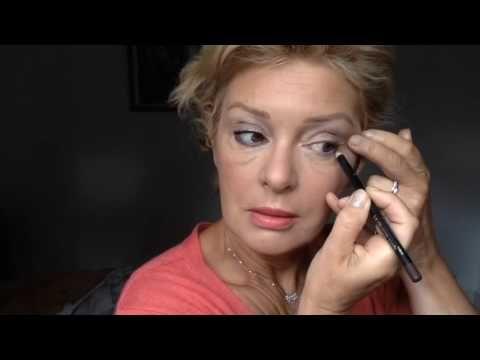 Un maquillage simple pour les plus de 50ans avec Marc Jacob, L'Oréal et Urban Decay - YouTube