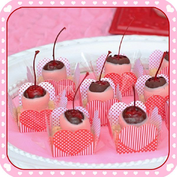 Be My Valentine Dessert Table
