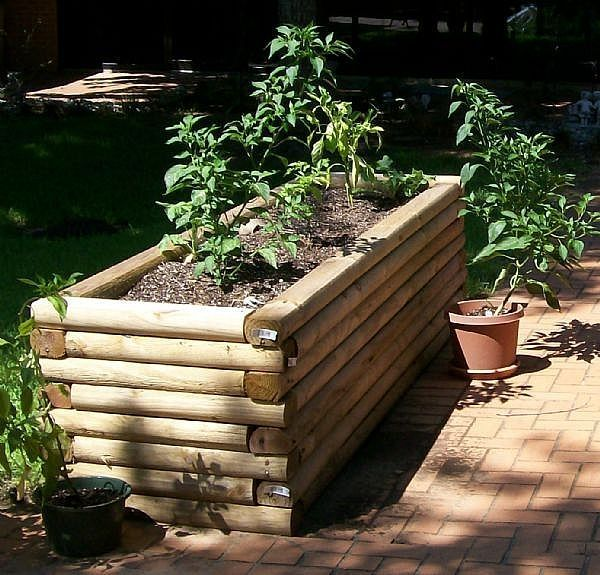 Interesting Landscape Timbers For Garden Decoration Ideas