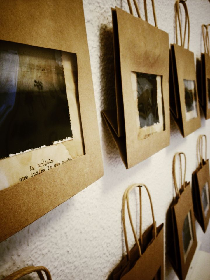 "A closer view of the GROUP exhibition ""400ASAS"" at ""la casa amarilla"" _ Málaga"