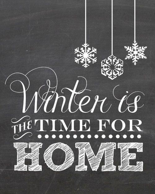 Zeit für ein gemütliches zu Hause!