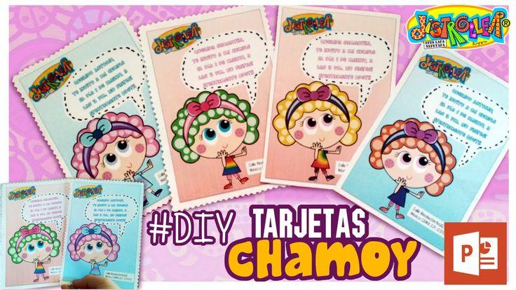 Cómo hacer tarjeta de cumpleaños de Distroller Chamoy  Hola hoy les traigo un video de distroller Chamoy , un tutorial para hacer tu propia tarjeta o invitación de cumpleaños o para cualquier fiesta, y es  de #chamoy #distrollerChamoy . Hicimos una plantilla en Power Point que es: -Fácil de Editar -Puedes personalizar el color de tu distroller CHAMOY -Se puede personalizar el mensaje y el fondo de la tarjeta