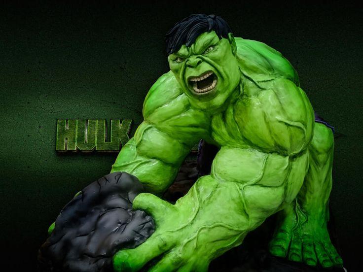 Kindertorte Hulk