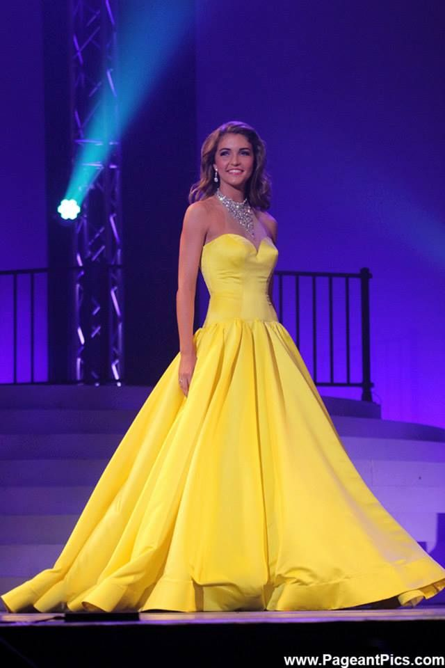 Miss North Carolina Outstanding Teen 2015 Evening Gown: HIT or MISS | http://thepageantplanet.com/miss-north-carolina-outstanding-teen-2015-evening-gown/