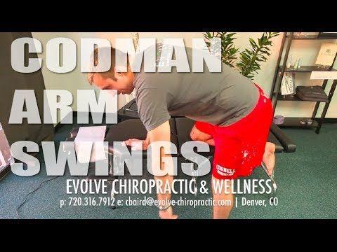 Codman Arm Swings | #Shoulder Rehab | Denver Sports Chiropractor