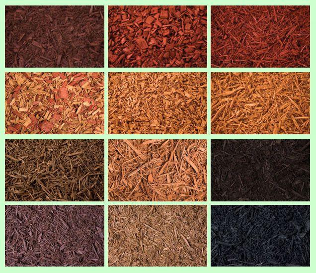 Mulch colors