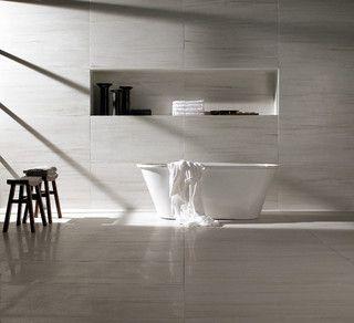 Contemporary Bathroom Tile - contemporary - bathroom - toronto - by Cercan Tile Inc.