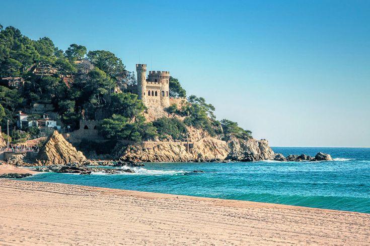 Castillo d´en Plaja (Lloret del Mar, Gerona) España