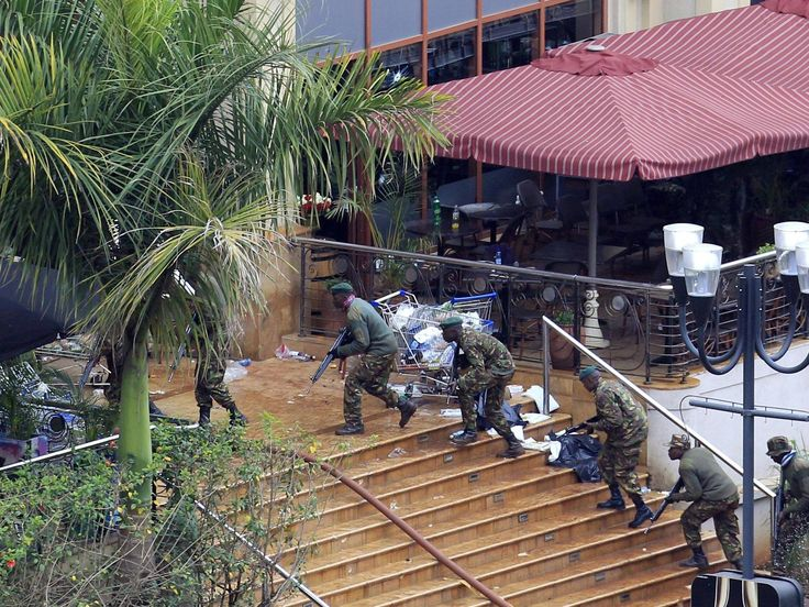 Kenya shopping mall attack: Hero former Royal Marine re-entered Westgate shopping centre 12 times to save 100 people from terrorists