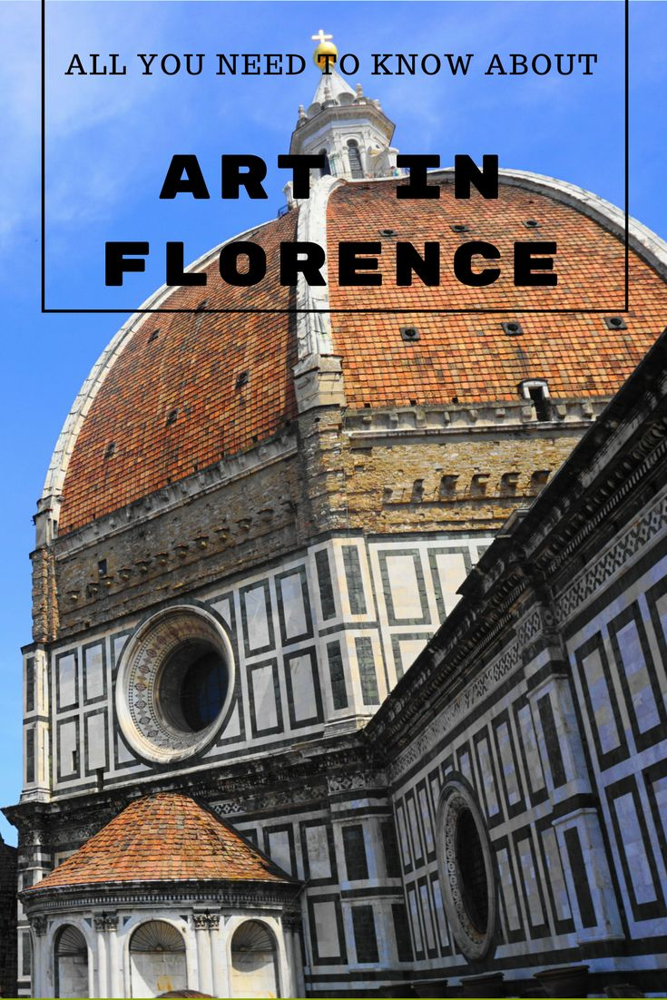 Visiting Florence, Italy and lost when it comes to art history? Check out this guide for top art highlights and what you need to know!