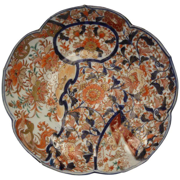 18th Century Imari Charger Bowl  sc 1 st  Pinterest & 1003 best Pattern: Imari from Japan images on Pinterest   Japanese ...