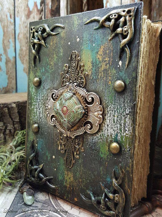 the Grace of Ithilien  Mixed Media Blank Journal by AlteredAlchemy