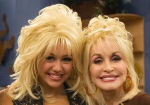 """Dolly Parton is not looking to give advice to goddaughter Miley Cyrus anytime soon. The 67-year-old country star opened up in a radio interview Thursday about her thoughts on the 20-year-old's """"extreme moves"""" lately."""