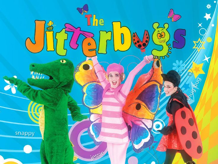 The Best Environmentally Friendly Children's Show in Australia Give your next special event the WOW FACTOR with The Jitterbugs