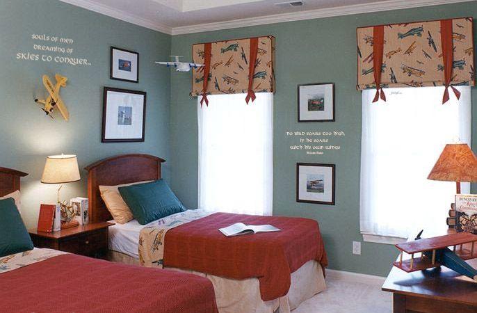 Airplane Room Ideas for littlest boys room