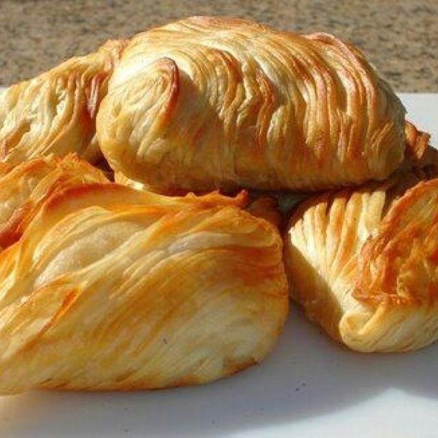 Maltese pastizzi (cheese pie, meat pie & peas/onions pie) │ #VisitMalta visitmalta.com