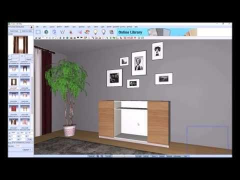Como criar um móvel aparador utilizando o KDMAX, Software de desenho de ...