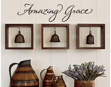 Amazing Grace Wall Decor 88 best home decor.vinyl images on pinterest | wall lettering