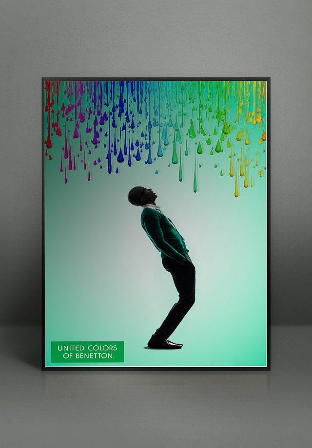Benetton / advertising inspiration  www.marionalamercery.com/wordpress