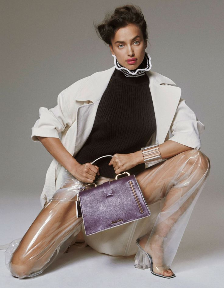 """leah-cultice: """"Irina Shayk by Charlotte Wales for Interview Magazine Germany…"""